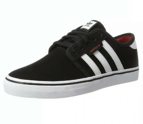 adidas Seeley Black Skateboarding trainers sneakers shoes BY4007 UK5 EU38